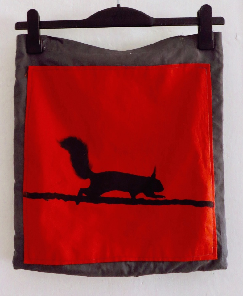 squirrel shopping bag