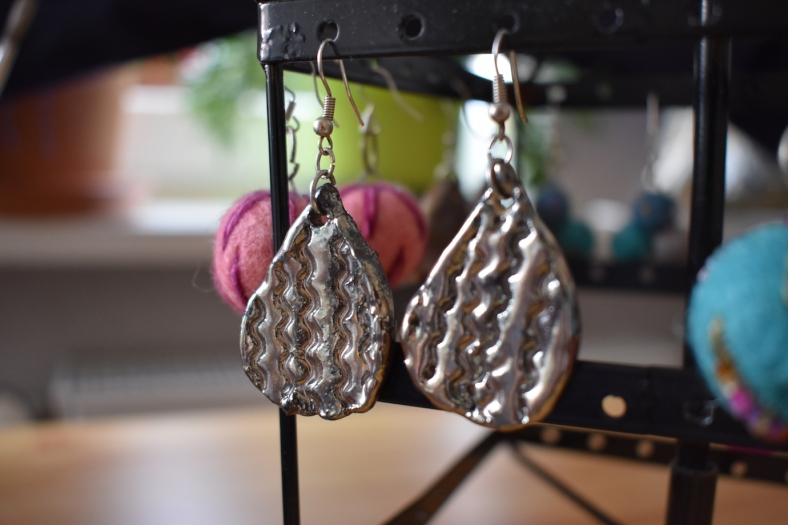 clay earrings 2